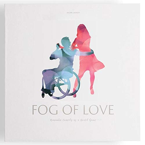 Hush Hush Projects Fog of Love Romantic Love As A Comedy Board Game