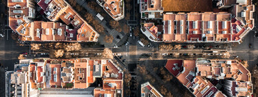 Geometric Barcelona: drone view photographs that capture the beauty of the city