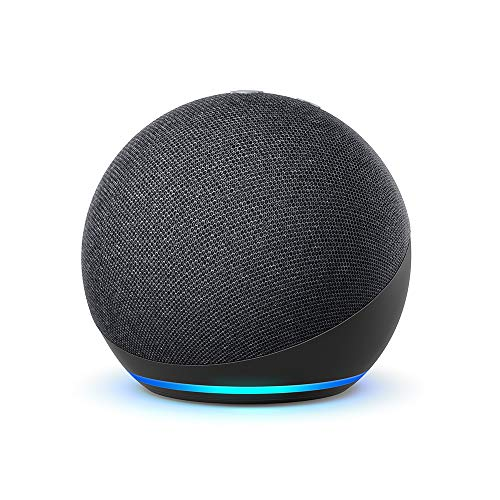 New Echo Dot (4th generation) |  Smart speaker with Alexa |  Anthracite