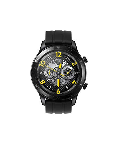 realme Watch S Pro Smartwatch, AMOLED Touch Screen, 14 Days Battery Life, Dual Satellite GPS, 5 ATM Water Resistance, Blood Oxygen Monitor and Heart Rate