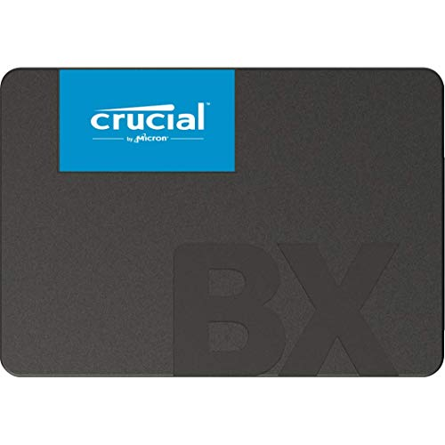Crucial BX500 2 TB CT2000BX500SSD1 (Z) Internal Solid State Drive, up to 540 MB / s (3D NAND, SATA, 2.5 Inch)