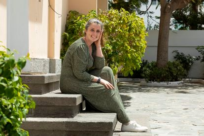 Tracy Keogh, 22-year-old telecommuter.
