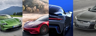The 17 fastest and most powerful electric cars: up to 2,000 hp and speeds above 340 km / h
