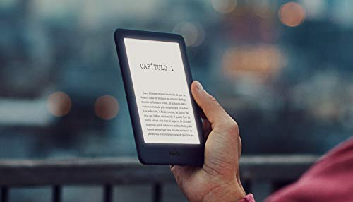 Kindle, now with integrated front light, black