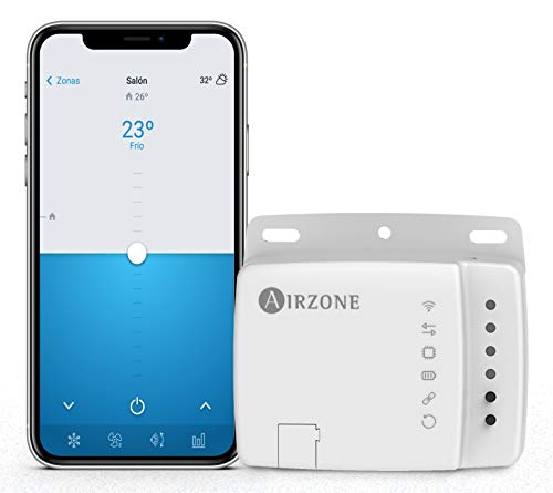 AIRZONE - Aidoo WiFi Control - WiFi Thermostat - Compatible with Alexa and Google Home - Fujitsu Air Conditioner - Voice control function - Second Generation Wi-Fi Controller