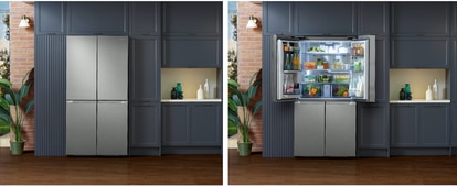 Bespoke has more interior space with the same exterior size, and can also be adapted to the taste of each one.